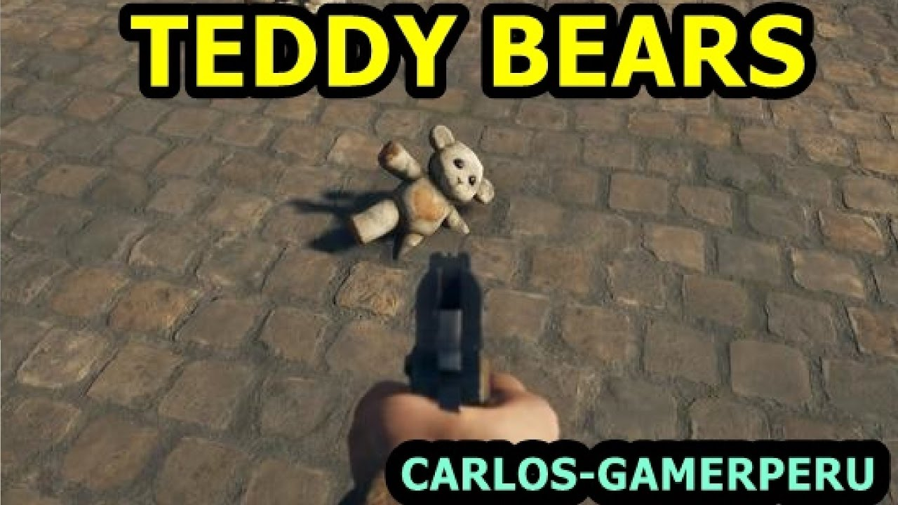 teddy bears easter egg caja con ositos de peluche en battlefield abril ps
