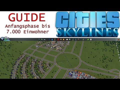 Cities Skylines | Anfangsphase bis 7.000 Einwohner