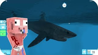 A TIBURON WANTS TO EAT BABY AENH - ROBLOX AENH SHARKBITE
