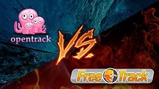 OpenTrack - обзор, настройка. Сравнение с FreeTrack