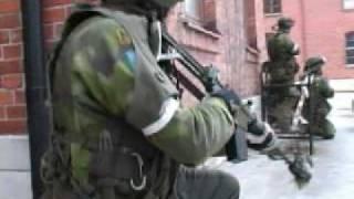 Swedish army drill on Gotland 2005