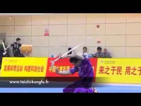 Kungfu Wushu - Epéée de l'Homme l'Ivre (Zui Jian)