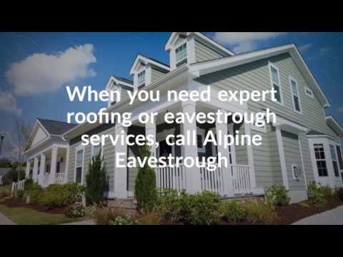Calgary Eavestrough Services | Alpine Eavestrough