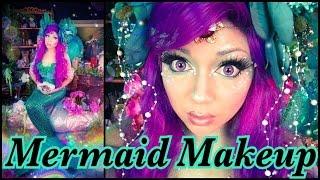Mermaid Makeup Tutorial!