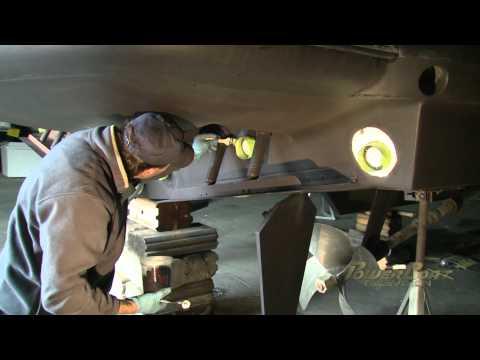 PowerBoat TV Episode: Installing SeaBlaze3 underwater LED lights