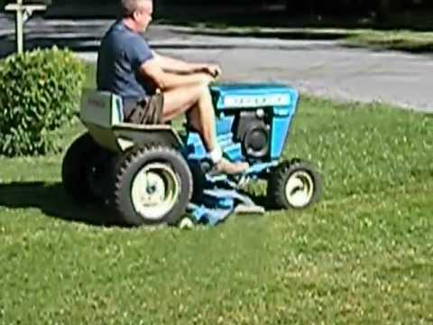 FORD Jacobsen 140 Garden Tractor for sale Mowing my lawn 72112