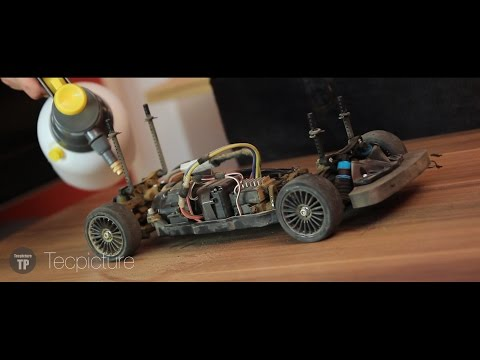 CHEAP AND EASY | CLEANING RC CAR WITHOUT COMPRESSOR