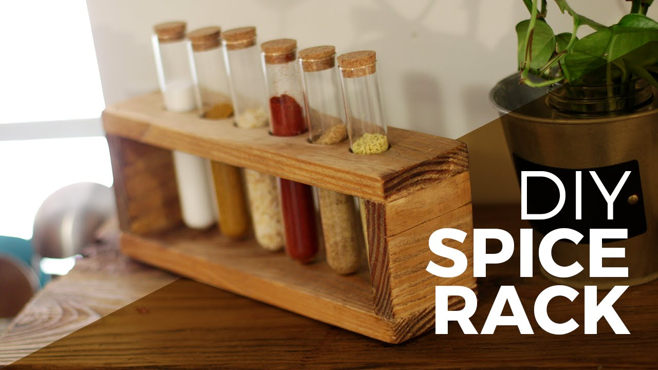 How To Make A Spice Rack Diy