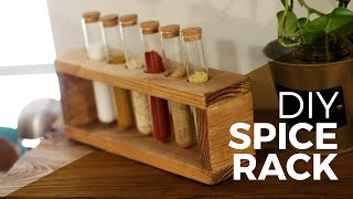 How to make a Spice Rack - DIY