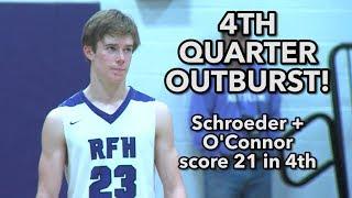 Rumson-Fair Haven 60 Marlboro 51 | Ian O'Connor 28 points 15 rebounds