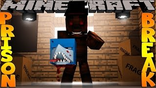 Minecraft PRISON BREAK - SCUBA STEVE PUSHED TO HIS DEATH!!?
