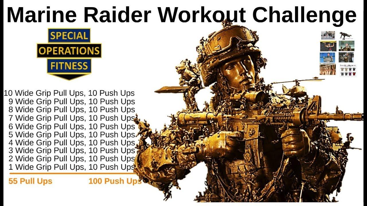Marine Raider Workout Challenge