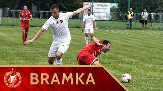 Stal Stalowa Wola - Widzew Łódź 1:0 - Bramka Roberta Dadoka