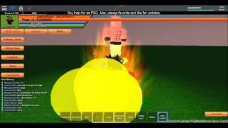Roblox dbz ssw| BUU boss fight