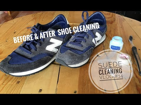 How to clean New Balance Shoes ₱600.00 from UKAY-UKAY! 👟 | VLOG #14