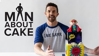 The Future Cake Slayer! Superhero Birthday Cake | Man About Cake