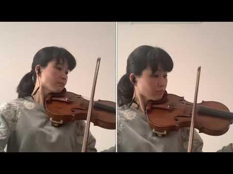 バルトーク:44のヴァイオリンデュオより「ルーマニアの輪踊り」佐原敦子