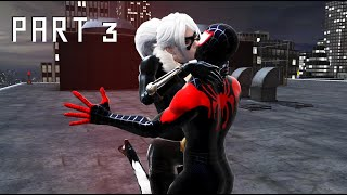 Spider-Man: Web of Shadows (PC)(Miles Morales Suit Gameplay) - PART 3 - Spider-Man fights Black Cat
