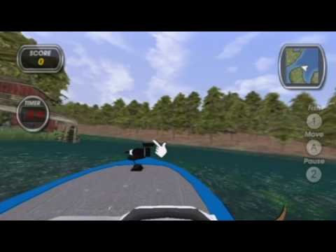 Shimano Xtreme Fishing (Wii) Bow Fishing Gameplay