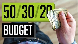 The 50 30 20 RULE   Tips To Budget Your Money To Get Ahead Financially