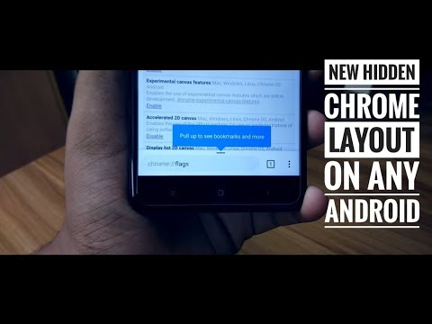 Enable New Hidden Layout In Google Chrome On Any Android(No Root)