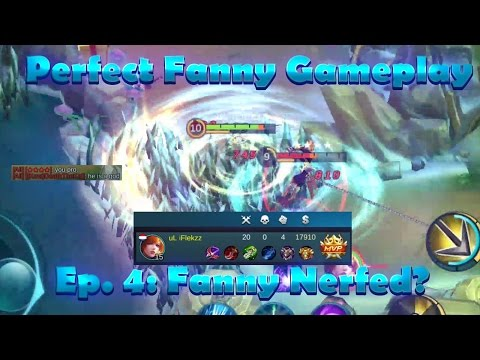 Mobile Legends: PERFECT FANNY GAMEPLAY #4 | FANNY NERFED?