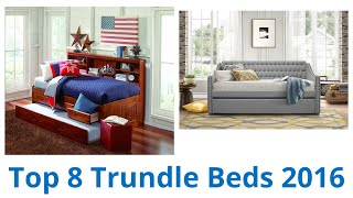 8 Best Trundle Beds 2016