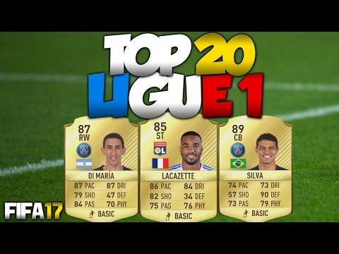 FIFA 17 | LES 20 MEILLEURS JOUEURS DE LIGUE 1 |