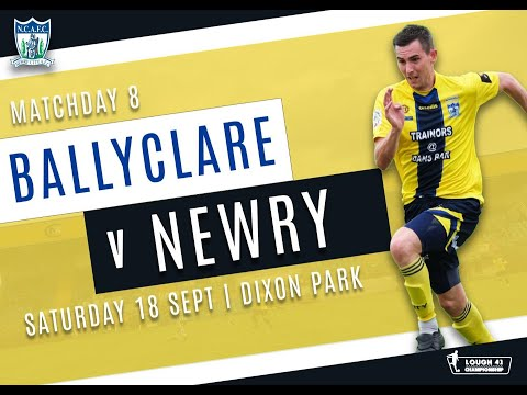 Ballyclare Newry City Goals And Highlights