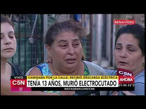 C5N - Sociedad: Tenía 13 años y murió electrocutado
