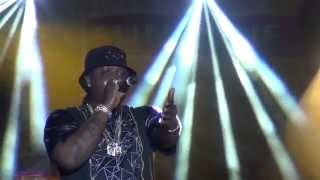Jah Vinci Speaks to Crowd/Dutty Angela (snippet) [Vybz Kartel] - Ah December to Remember, 2014