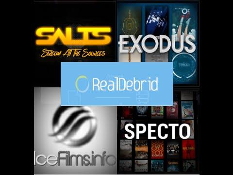 KODI - RealDebrid With Exodus & Salts & Specto & IceFilms - Setup & Review