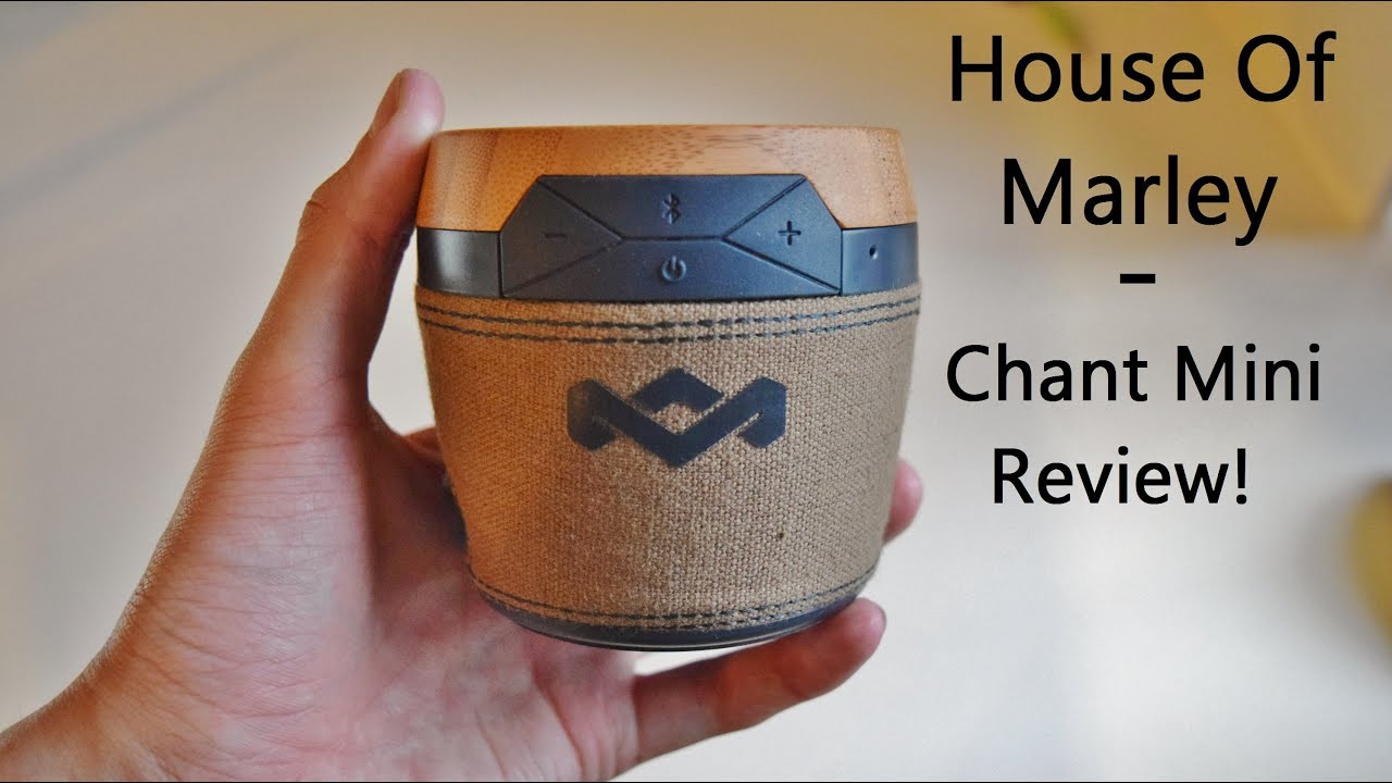 Best Cheap Speaker - House Of Marley Chant Mini Review! - YouTube fb837fcbc2