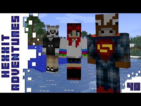 Minecraft - Hexxit - A Vég - 40. rész - w/ Zsömi, Ádám