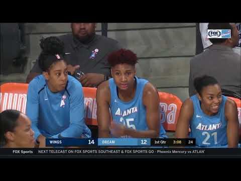 WNBA. Atlanta Dream - Dallas Wings 26.05.18