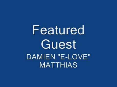 "L.L Cool J's - Homeboy Damien ""E-LOVE"" Matthias ON THE SET - BopGospel Radio"