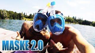 DIE NEU ENTWICKELTE TAUCHERMASKE 2.0  | Unboxing - Review - Test [Deutsch/German]