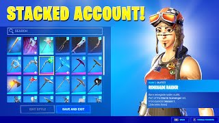 Rating A Subscribers STACKED Fortnite Account! (RARE SKINS)