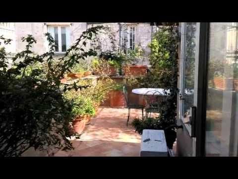 Rome holiday apartment with terrace, Spanish Steps - YouTube