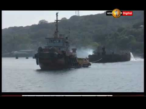 SS Sagaing, naval ship re-floated and sunk in