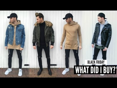 mens fashion haul black friday lookbook winter 2019
