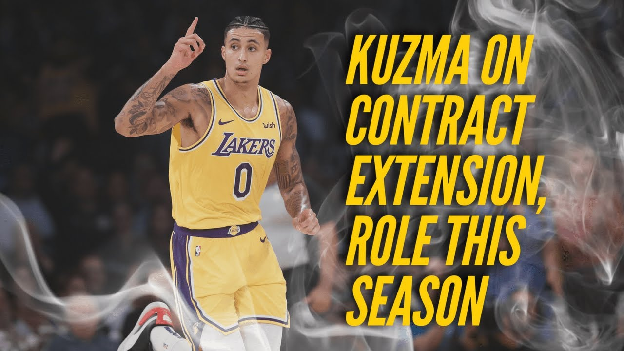 Kyle Kuzma On A Contract Extension With Lakers, Role This Season, More - Lakers Nation