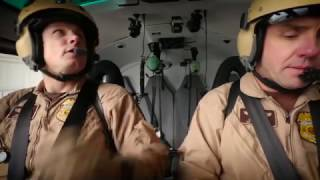 Army Pilots Fly for CBP