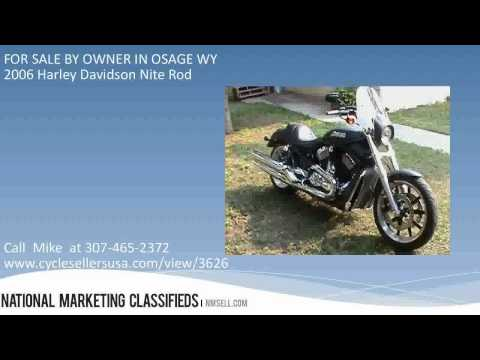 2006 Harley Davidson Nite Rod FOR SALE BY OWNER IN OSAGE WY 82723