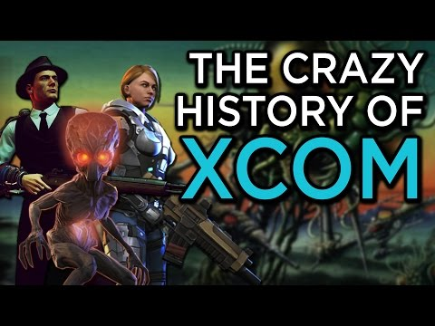 The Crazy History of the X-COM Series