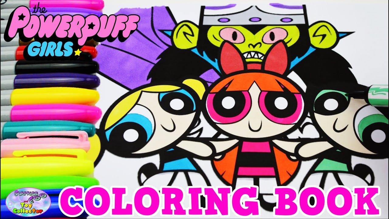The Powerpuff Girls Coloring Book Blossom Mojo Jojo Show Episode ...