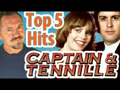 Top 5 Captain & Tennille Hits - Daryl Dragon Tribute