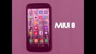 Review MIUI 8 (Moto G4/Plus) + LOGO - Tecno Pixel