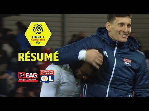 EA Guingamp - Olympique Lyonnais (0-2)  - Résumé - (EAG - OL) / 2017-18