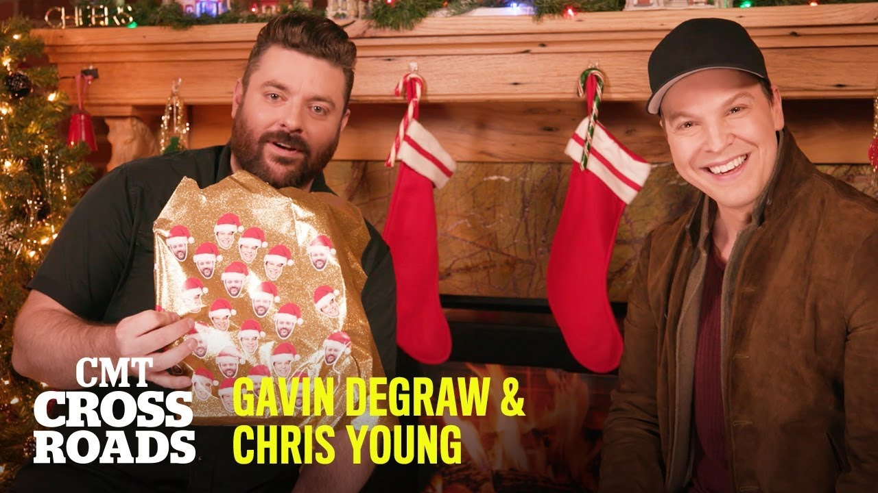 Gavin DeGraw & Chris Young Unwrap The Music They're Raised On   CMT Crossroads